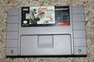 Chrono Trigger (Super Nintendo SNES) Cart Only GREAT Shape AUTHENTIC