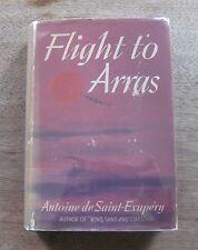 FLIGHT TO ARRAS Antoine de Saint-Exupery- 1st/1st HCDJ 1942 $2.75 little prince