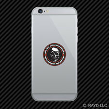 God Will Judge Our Enemies We'll Arrange The Meeting Cell Phone Sticker Mobile