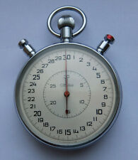 Slava Vintage USSR Russian Soviet Split stopwatch Chronometer 20 jewels 0493420