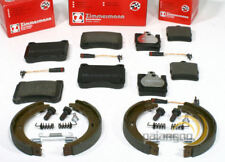 Front Brake Pads Mercedes C-Class C 180 Coupe CL203 01-08 143 130.9x62.1mm