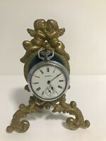 * Antique French  Pocket Watch Holder/ Stand *