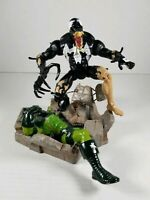 Marvel Legends 2001 TOY BIZ Spider-Man Classics Venom With Base 1:12 Figure