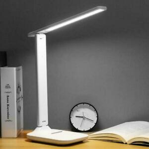 NEW Adjustable 24 LED Desk Bedside Reading Lamp Table Study Light Touch Control