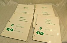 Cricket Level 2 Coaching Technical Manuals 1979 Canadian Vintage Lot of 6