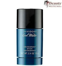 NEW Davidoff Cool Water for Men Deodorant Stick 70g FREE P&P