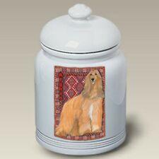 Afghan Hound Ceramic Treat Jar Ps 52087