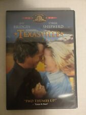 TEXASVILLE (DVD, 2002) ***Rare, OOP!*** Jeff Bridges, Cybill Shepherd (1990)