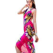 Summer Women Bath Suit Bikini Swimwear Cover Up Beach Dress Sarong