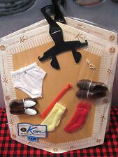BRAND NEW Barbie Mattel~1961~SEALED**KEN ~FASHION PAK~10 Items~JAPAN~BOOKLET~Tag