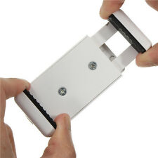 Stativ Adapter mit Gewinde | 2x mit Standfuß Aufsatz für Handy/Smartphone weiß