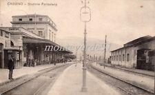 CASSINO -    stazione ferroviaria 1917