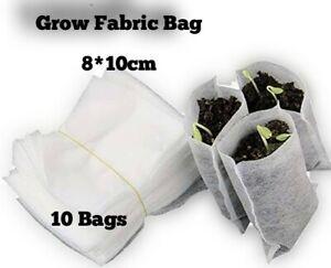 8*10cm Non-woven Fabric Seeding Nursery Bags Nursery Pots Seedling Raising Bags