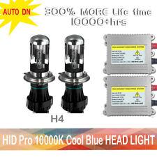 2x DSV HID headlight Kit H4 9003 HB2 Bi-XENON 10000K Conversion Bulbs Replcement