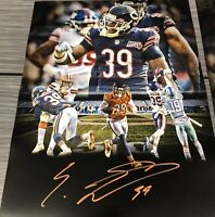 Eddie Jackson Chicago Bears Autographed Signed 8x10 Photo  Jsa Coa B