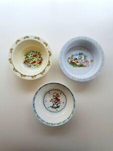 Royal Doulton Bunnykins bowls