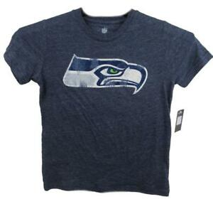 Seattle Seahawks Youth Size S (8) M (10/12) L (14/16) or XL (18) T-Shirt ASSE 84