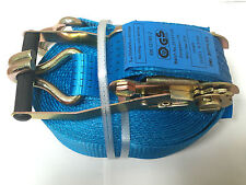 4mtr X 50mm (5 Tonne) Ratchet Strap With Claw Hooks