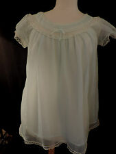 PUR VINTAGE 60  NUISETTE  NYLON  CHEMISE DE NUIT / 42 / NIGHT DRESS