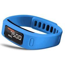 Capteurs d'activité et bracelets bleus pour le fitness