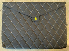 "Timbuk2 Black Quilted Padded Laptop Sleeve Case Envelope Style 17.5"" XL"