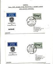 SAMOA AVIATION / FLIGHT  (6) 1968 FLIGHT ANNY USA TO AUSTRALIA BY KING SMITH