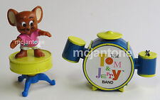 LOOSE McDonald's 1990 Tom & Jerry Band JERRY DRUMS Mouse Cartoon CAKE TOPPER