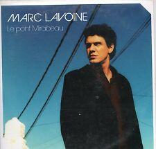 CD CART 2T MARC LAVOINE  ( LE PONT MIRABEAU  ) TRES BON ETAT  DE 2001
