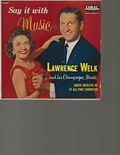 """LAWRENCE WELK -  45 -  """"EP""""         """"  TWO FOR TEA  """"        VG++"""