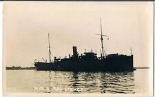 PRIVATE POSTCARD HMS ASSISTANCE WW1 REPAIR SHIP C1918 CARD REF 102G