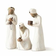 Demdaco Willow Tree 8.5 inches The Three Wisemen for the Nativity Resin metal