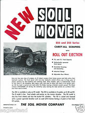 Farm Equipment Brochure - The Soil Mover - 225 325 RF - Scraper (F4180)