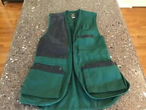Orvis Vintage Men's Safari Fishing Vest Green Medium M