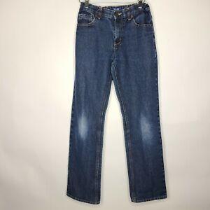 Old Navy Boys Blue Denim Straight Leg Jeans Size 16