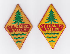 SCOUTS OF CANADA -  CANADIAN SCOUT QUEBEC ST. FRANCIS VALLEY DISTRICT Patch