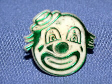 Vintage 1940's-1950's Plastic Canada Clown Child's Ring- Adjustable Size 5 1/2-7