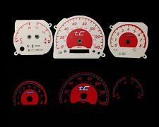 05-09 Scion tC MT Red Indigo Glow White Gauges 05 06 07 08 09 (TC-MT)