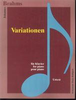 Brahms - 5 Studien; 51 Übungen , Urtext