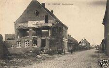 "Bomb Damage Ruins Wervik Flanders Belgium  World War 1 6.5x4"" Reprint Photo 1"
