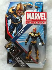 "Marvel Universe Series 4 #19 ""Nova"" 3.75"" Inch Action Figure Moc New Unopened"