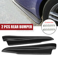 Rear Bumper Spats Splash Guard Extend Valance Lip For BMW Mercedes VW For Audi