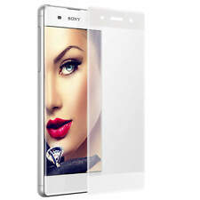 Cristal Templado Vidrio 3D para Sony Xperia XA F3111 F3113 - blanco