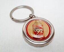 Oertel'S 92 Bock Beer Can / Bottle Cap Opener Key Chain / Key Ring Handmade