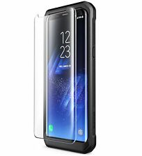 Galaxy S8+ Plus Screen Protector, Supcase FitGlass Premium 3D Tempered Glass