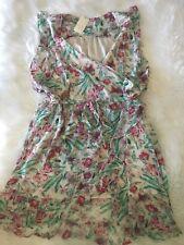 Summer Ruffle a.n.d e a  w y Floral Dress, 2x NWT 2xl Plus Size
