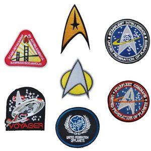 Star Trek Iron On Patches Various Styles Iron On Patch Sew On Transfer StarTrek