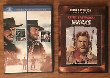 Clint Eastwood Dvd Lot Pale Rider For A Few Dollars More Fist Full Of Dollars