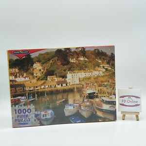 Chad Valley 1000 Piece Polperro Harbour, Cornwall Jigsaw Puzzle - New and Sealed