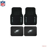 New NFL Philadelphia Eagles Car Truck Front / Rear Rubber Heavy Duty Floor Mats