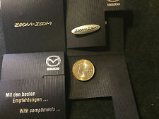 Mazda zoom zoom  OVP Pin Badge edel in Folder